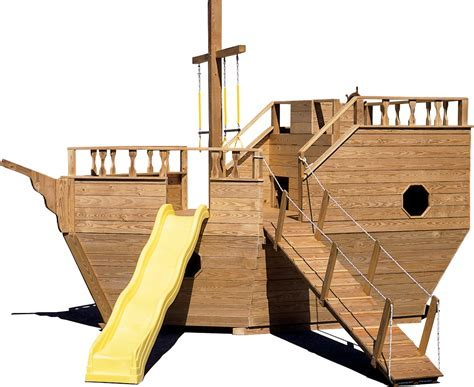 wooden boat playground plans boat playgrounds north country sheds