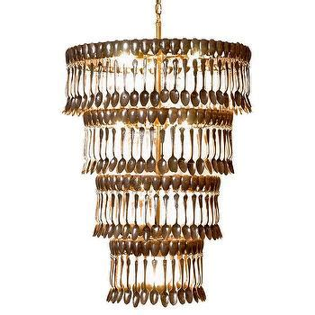 fork and spoon chandelier spoon and fork chandelier arhaus furniture