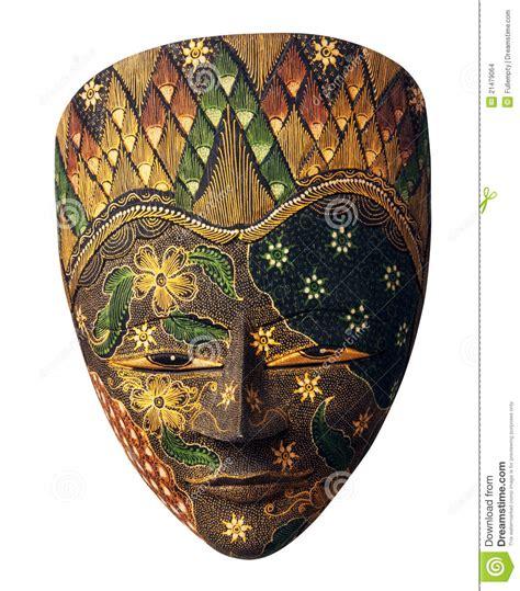 Masker Komedo Uh Mask Flower painted mask with flowers stock photo image