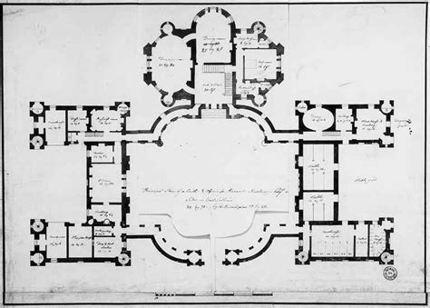 castle plans robert adam designs in the castle style