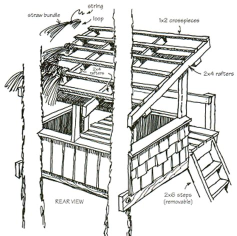 tree house roof designs treehouses book you can actually build