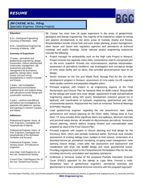 Construction Risk Assessment Template - UN Mission - Resume and ...