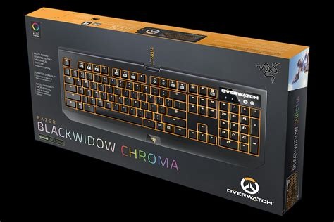 Razer Blackwidow Chroma Overwatch Edition Keyboard Gaming 2 overwatch razer blackwidow chroma mechanical keyboard