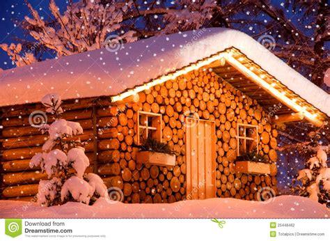 images of christmas hut christmas hut snow stock photo image of night wintertime