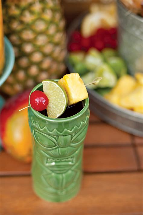 festive tiki time cocktail party drink recipes hostess with the mostess 174