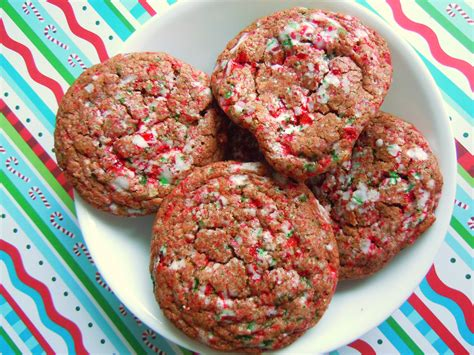 christmas cookie baking fun crackled chocolate candy cane