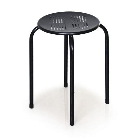 Tabouret Metal Noir by West Noir Tabouret Empilable M 233 Tal Troc 3000 Fr 233 Jus