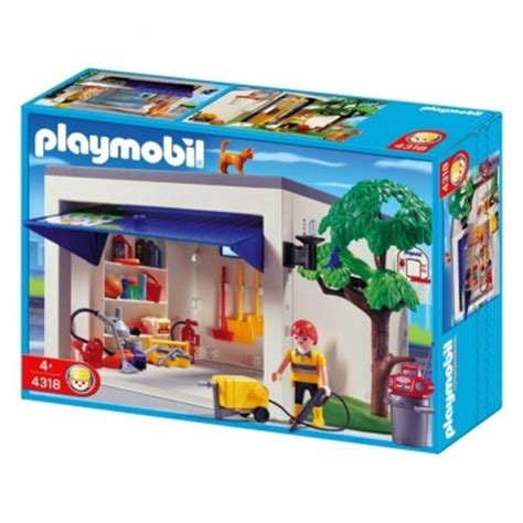 playmobil 4318 garage by playmobil 174 shop for