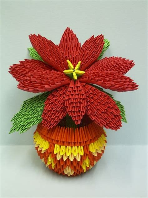 Origami 3d Flowers - 17 best images about 3d origami on lotus