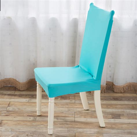 Other Home Decor Elegant Fabric Solid Color Stretch Dining Room Chair Fabric Seat Covers