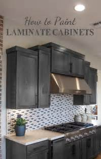 Can I Paint My Laminate Kitchen Cabinets Painting Laminate Cabinets Painted Furniture Ideas