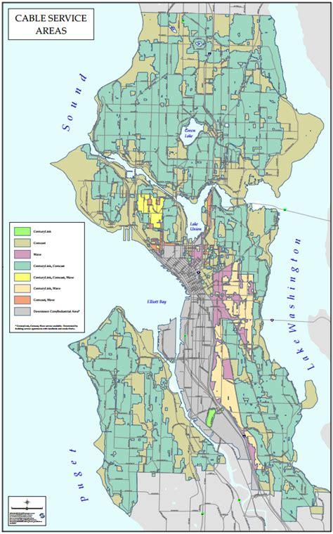 centurylink service area map gigabit availability tech seattle gov