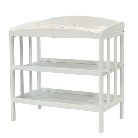 White Wood Changing Table Davinci Monterrey Wood Changing Table In White M1302wp
