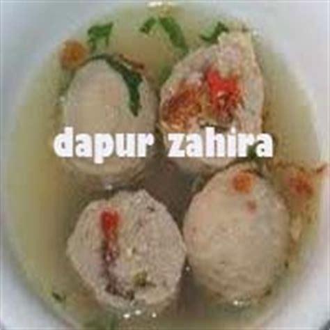 Solana By Sambal Mercon 2 Buah bakso mercon isi kikil dapur zahira