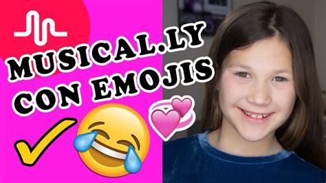 como hacer un fondo con emojis youtube como hacer musical ly con emojis efectos musical ly