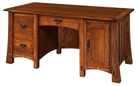 amish made office furniture