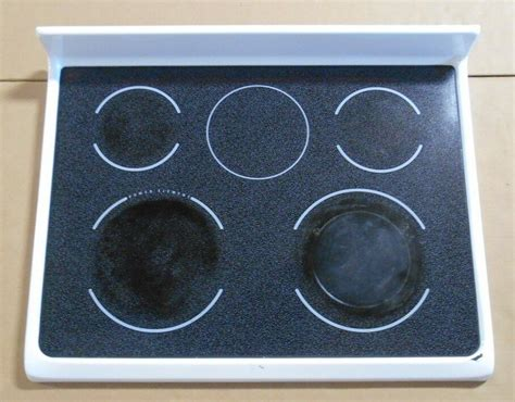 kenmore glass cooktop frigidaire kenmore range glass cooktop 316456271 white 790