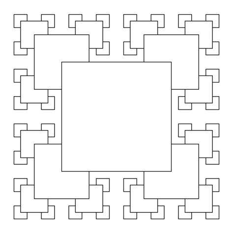 rectangle pattern drawing simple square fractals to draw www pixshark com images