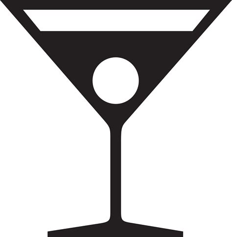 martinis clipart martini black and white clipart clipart suggest