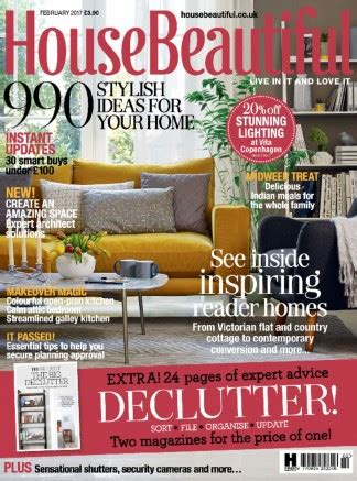 home design magazine subscription isubscribe house beautiful magazine subscription isubscribe co uk