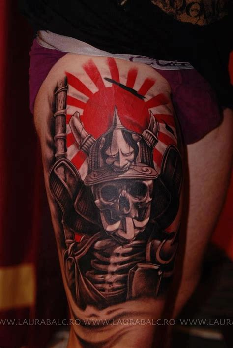 art briles tattoos japanese skull samurai ink tattoos