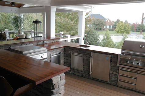 Outdoor Wood Countertop by Pin Outdoor Bar Tops On