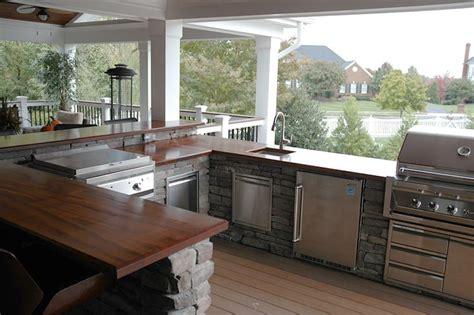 outdoor bar top finish outdoor mahogany bar top maryland wood countertops