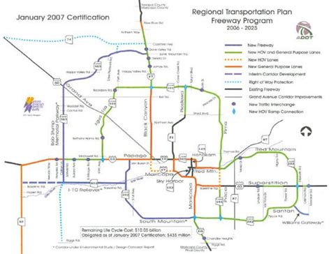 arizona highway conditions map map freeways