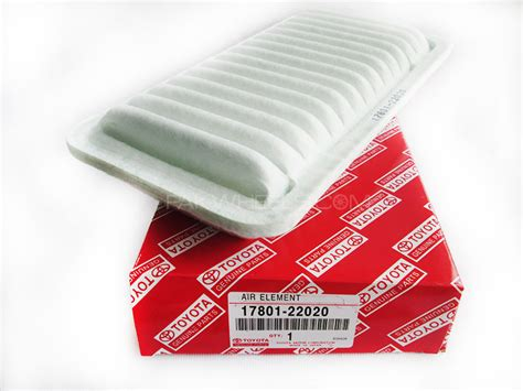 Filter For 2001 Toyota Corolla Air Filter Toyota Corolla Altis 2001 2008 17801 22020