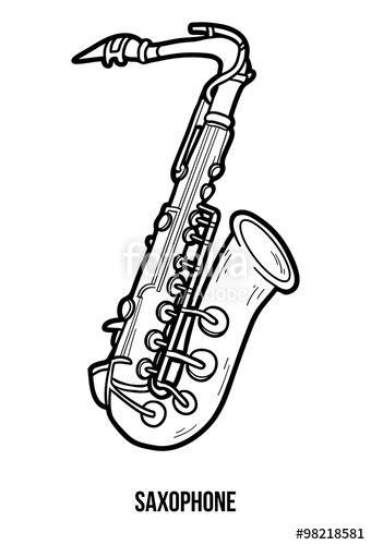 Simple Saxophone Drawing   www.pixshark.com   Images