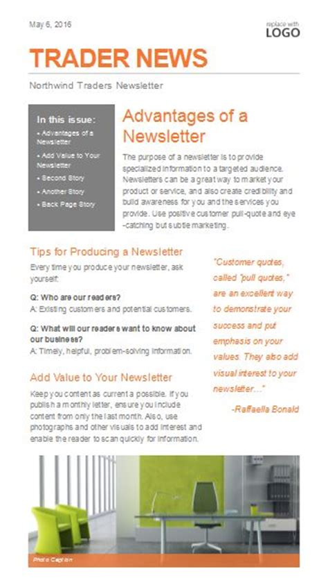 publisher newsletter templates newsletter templates email newsletter templates and