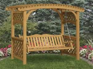 covered benches trellis bench garden arbor with bench
