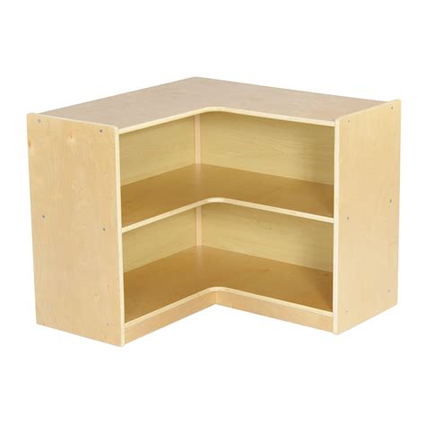 ecr4kids birch corner shelving unit reviews wayfair
