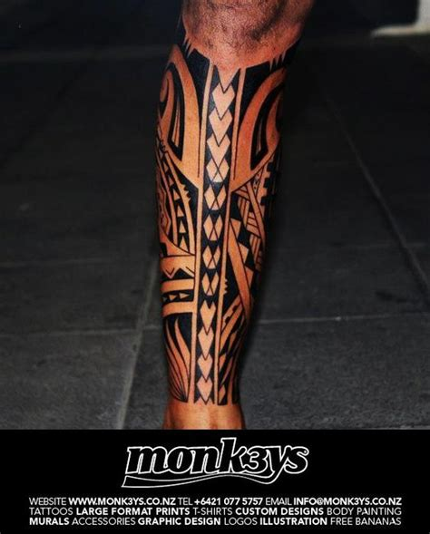 tribal calf tattoo designs polynesian tribal leg polynesian tribal calf