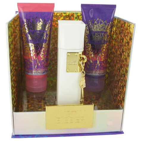 justin bieber perfume gift set the key perfume gift set 3 4 oz edp 100 ml by justin