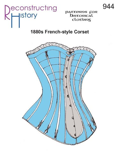 corset pattern generator victorian 17 best images about historical patterns on pinterest