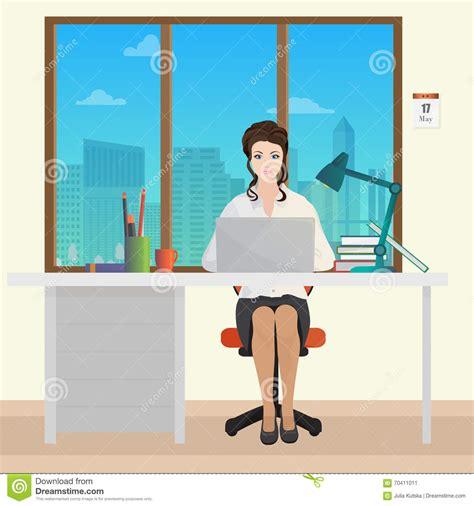 responsabile ufficio responsabile di ufficio di segretario della donna nell