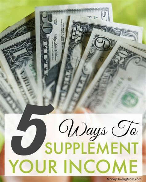supplement income from home 5 ways to supplement your income money saving 174