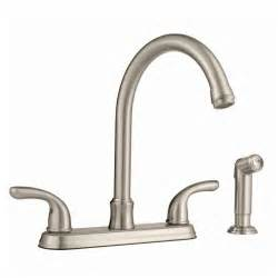 glacier bay kitchen faucets glacier bay builders hi arc kitchen faucet with joss sprayer in brushed nickel pppab avi depot