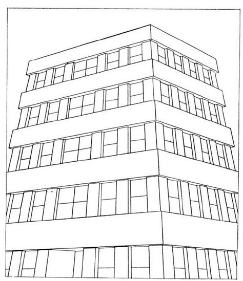 city buildings coloring pages coloring