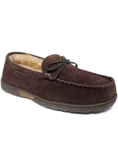 mens rockport slippers rockport rockport s slippers faux fur lined moccasins