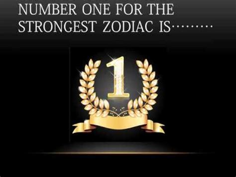 which is the strongest of a s five senses most strongest zodiac sign