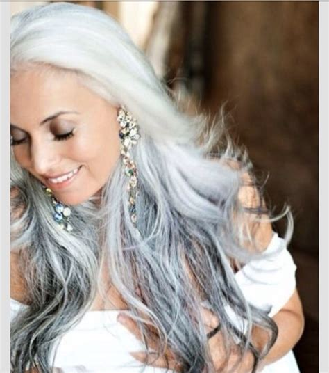 reverse ombre on woman over 50 reverse ombr 233 hair styles grey hair the new blonde trusper