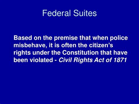 civil rights act section 1983 ppt civil liability powerpoint presentation id 4486621