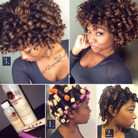 perm rods on medium natural hair perm rod sets natural hair no heat using fortify d