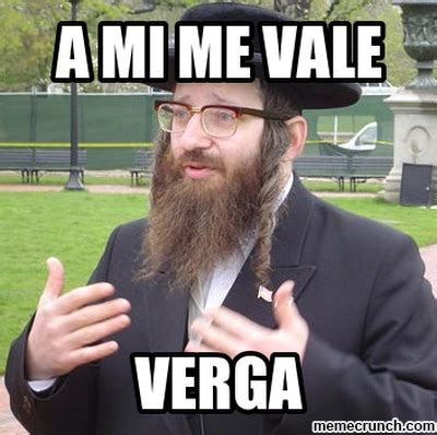 Me Vale Meme - rabino me vale verga