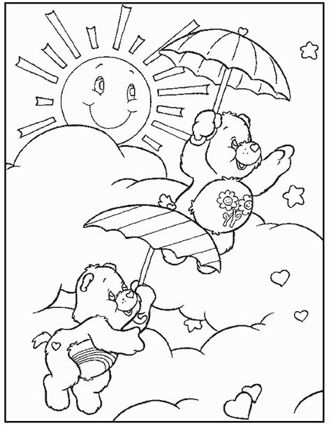 share your care day printable care bears coloring pages printable care bears coloring pages coloringstar