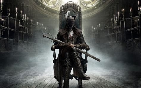 game wallpaper set bloodborne is getting a figma action figure
