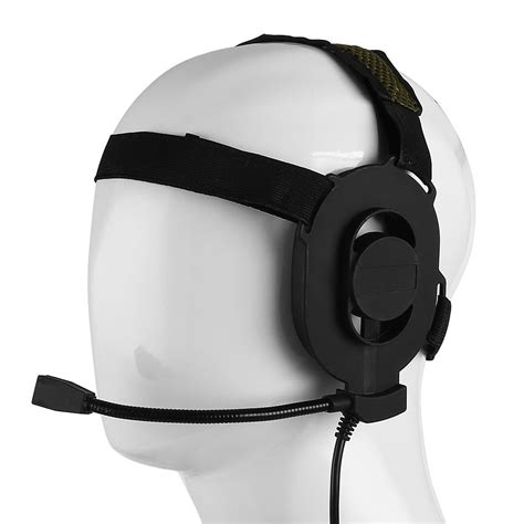 Headset Army z tactical bowman elite ii headset for baofeng tyt kenwood 2 pin radio ebay