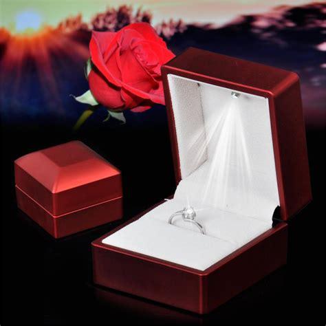 engagement ring boxes that light up unique style light up engagement ring box weddceremony com